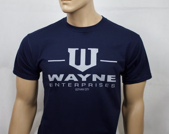 Batman inspired Wayne Enterprises t-shirt