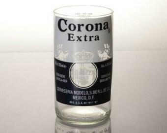 Corona Glass Candleholder