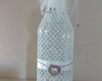 "Lamp bottle ""long live the bride!"""