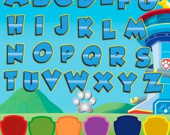 Alphabet Paw Patrol