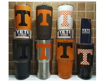 YETI - TENNESSEE VOLS Volunteers Cup 20 oz 30 oz Tumbler Mug Vols Student sports football fan grad custom alumni gift idea creative present