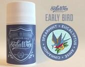 """Spearmint + Anise + Eucalyptus + Cinnamon Bark > """"Early Bird"""" Aluminum-Free Natural Deodorant by SodaWax"""