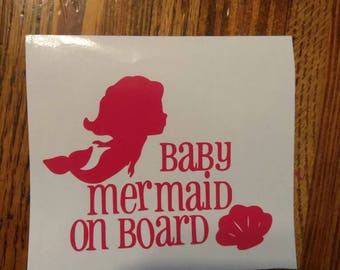 Baby on board - car decals