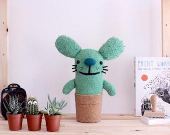 Rabtus handmade cactus, soft plant, cactus doll