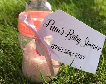 Pink Baby Shower Sherbet Bottle