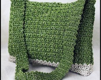 Star stitch crochrte bag