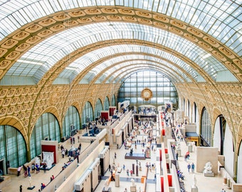 Musée d'Orsay, Paris Photography, French Home Decor, Paris Print, Fine Art Photography, Paris Wall Art, Paris Architecture, Paris Wall Art