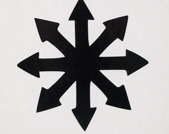 Chaos Symbol - Vinyl Decal