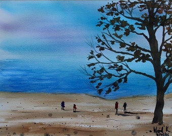 Evening Sea # 2 (Original Painting)