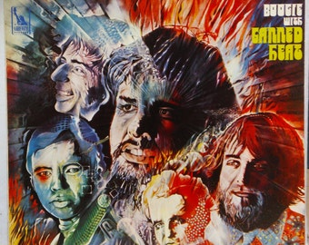 Boogie With Canned Heat Blues Rock Lp Liberty