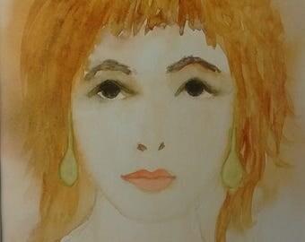 Portrait of a woman: Jeannette