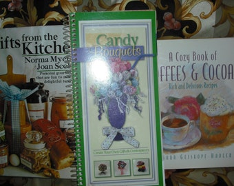 Cookbooks, Gifts from the Kitchen, Candy Bouquets, Coffees and Cocoas