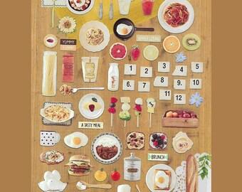 Suatelier Breakfast Food Sticker [#1033 Tempting]