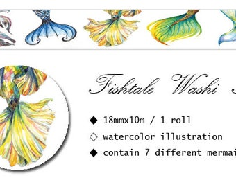 Fishtale Washi Tape