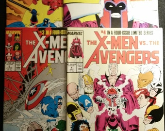 Marvel The X-Men VS. The Avengers, Vol. 1, Four-Issue Limited Series 1987
