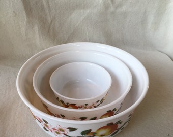Arcopal schalenset Apple blossoms, made in France