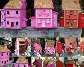 house - wardrobe - box Super gift for girls
