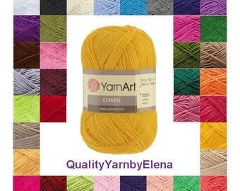 Etamin YARN ART -  100% acrylic yarn- 30g 180m turkish yarn