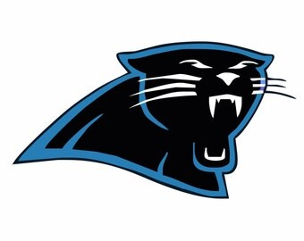 Carolina Panthers  SVG,Football , Logo files by layers - Make Your Own Print Cut Crafts, Shirts, Wall Art, Vinyl Decals,ECT