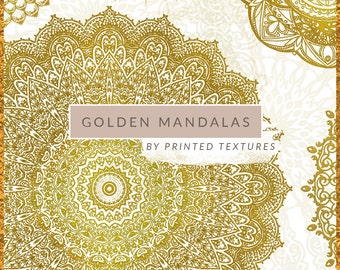MANDALA CLIPART, Mandala, Gold Mandala Clip Art, Mandala Clip Art, Golden Mandala, Mandala Logo Design, Free Commercial Use, Png Transparent