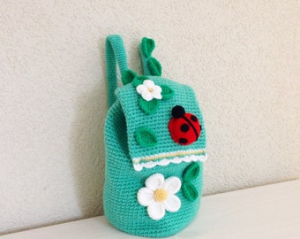 Crochet Pattern Backpack Spring