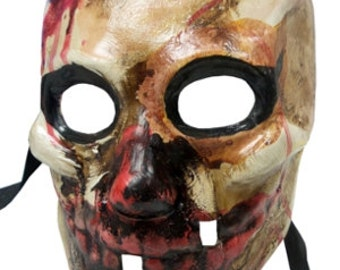 Top Quality Handcrafted Scarlatti Bloody Zombie Monster Halloween Horror Full Face Venetian Mask 060S
