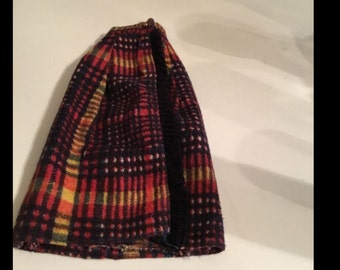 Barbie Doll Mattel Plaid Skirt #3341