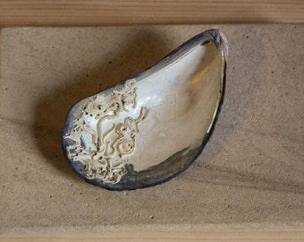 Large Mussel Shell Beachcombing Find Northumberland UK * SeaShells Seaside Shore Nautical Beach Decor Bathroom Garden Ornament Mosaic #31