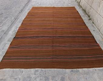 Big Size Vintage Kilim, Turkish Kilim Rug, Vintage Turkish Kilim, Kilim, Kilim Rug