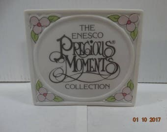 Precious Moments by Enesco Store or Collection Shelf Sign 1990 Japan