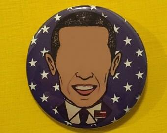 Barack Obama Pinback Button