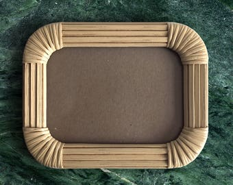 Rattan 5x7 Picture Frame