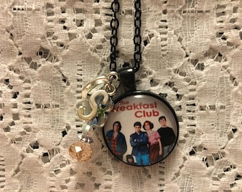 The Breakfast Club Charm Necklace/The Breakfast Club/Molly Ringwald/80's Movie Jewelry/Love the 80's/The 80's/Movie Jewelry