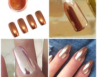 Nail Glitter Mirror Powder Chrome Dust Nail Art Pigment Manicure Gel Polish DIY