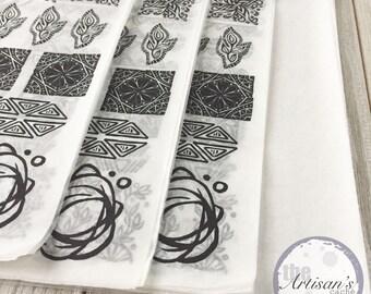 Carved Stamp Set Zine No.1