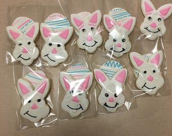 Easter bunnies and eggs cookies!