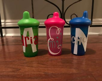 Custom sippy cup