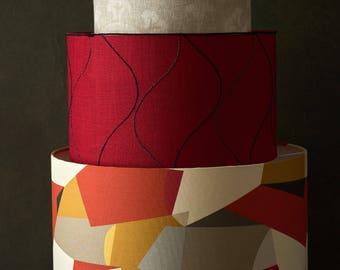 Bespoke handmade lampshade to order 50 45 40 35 30 cm