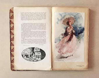 Vintage French Book - 1920's