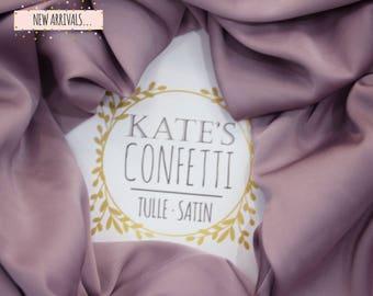 511 Velvet Nights Silk Satin Fabric, Grey Taupe Lingerie Fabric, Soft Silk Dress Fabric, Wholesale Silk Fabric, Lining Fabric-1.50m wide