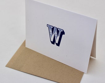 Monogram West Notecard Set of 8