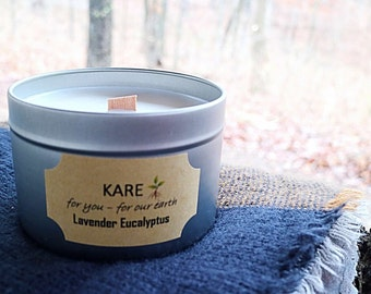 Soy + Essential Oil Candle - 12 oz.