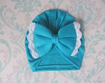 Cayman Blue Vintage Turban