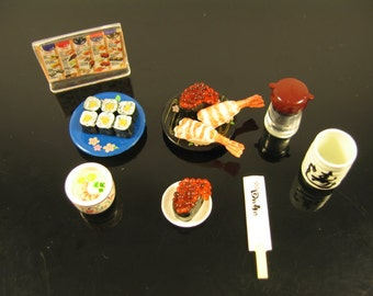 Miniature Sushi Set