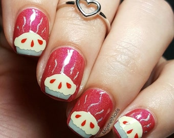 Pie Nail Decal