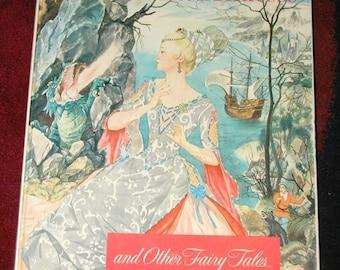 The Enchanted Princess Giant Golden Books very rare