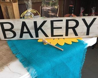 Handmade Bakery Sign