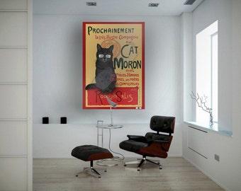 chat noir??  More like Cat Moron.