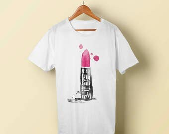 """T-Shirt - """"If at first You don't success, reapply"""" Women - Men - Polyester Tee Sleeve - FAST SHIPPING"""