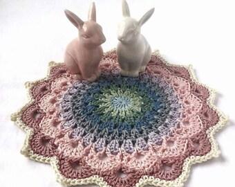 Crochet Mandala, Mandala, Medium Crochet Mandala, Crochet Doily, Doily, Medium Crochet Doily